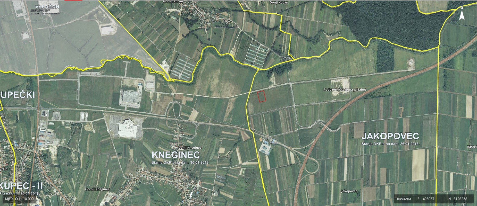 Land, Sale, Jalžabet, 7851m²